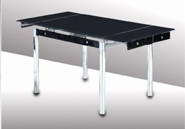 Стол ТВ 21А (чёрный) (без узора и боковой накладки)