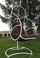 """Підвісне крісло з ротангу""""GALANT"""". Плетені крісла з техноротангу. Подвесные кресла"""