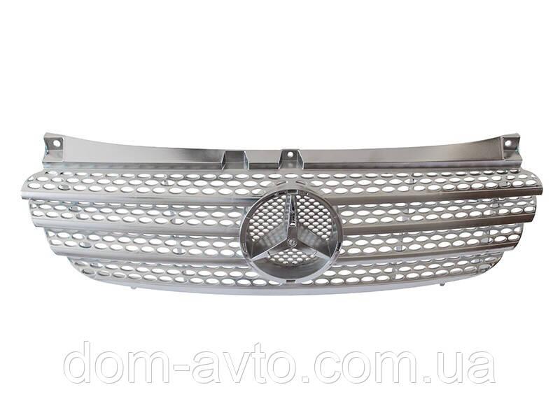 Решетка радиатора Mercedes vito viano 639 вито тюнинг хром