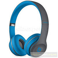 Наушники beats by dr. dre solo2 wireless active collection (mkq32zm/a) синий