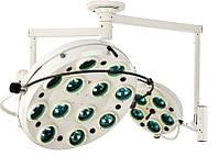 Светильник операционный бестеневой ZMD-II- «БИОМЕД» семнадцатирефлекторный потолочный (два блока,