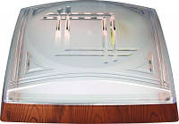 Светильник пластиковый квадратный 26W (Модерн) белый