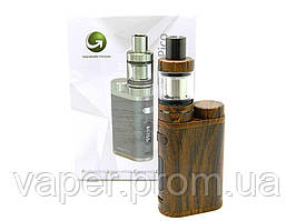 Набор Eleaf iStick Pico 75W, клиромайзер Melo 3 mini, Wood Grain