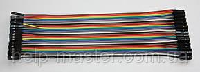 Плоский кабель 20 див. (гніздо гніздо) pin40 2.54