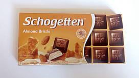 Шоколад Schogetten Almond Brittle (Хрустящий Миндаль) 100 гр