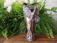Коллекционная декоративная ваза Veronese Цапля AN10170A4