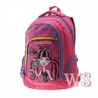 Ранец школьный рюкзак детский для девочек Monster High фабричный ортопед Winner Stile