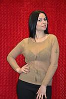 Лёгкий женский пуловер