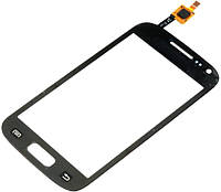 Тачскрин Samsung i8160 Galaxy Ace II черный с проклейкой