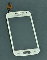 Тачскрин Samsung i8160 Galaxy Ace II белый с проклейкой