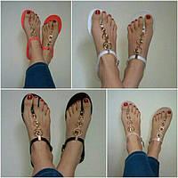 Силиконовые сандалии вьетнамки женские