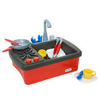 Кухня детская  с подачей воды Little Tikes 635557