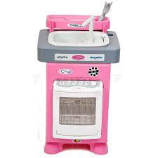 Кухня детская игровой набор с посудомоечной машиной и мойкой Carmen Wader 47946