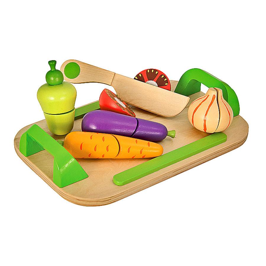Игровой набор доска детская для нарезки с овощами Eichhorn 3720