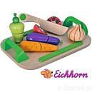 Доска детская для нарезки с овощами Eichhorn 3720, фото 3