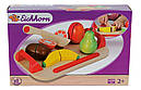 Игровой набор доска детская для нарезки с фруктами Eichhorn 3720-1, фото 3