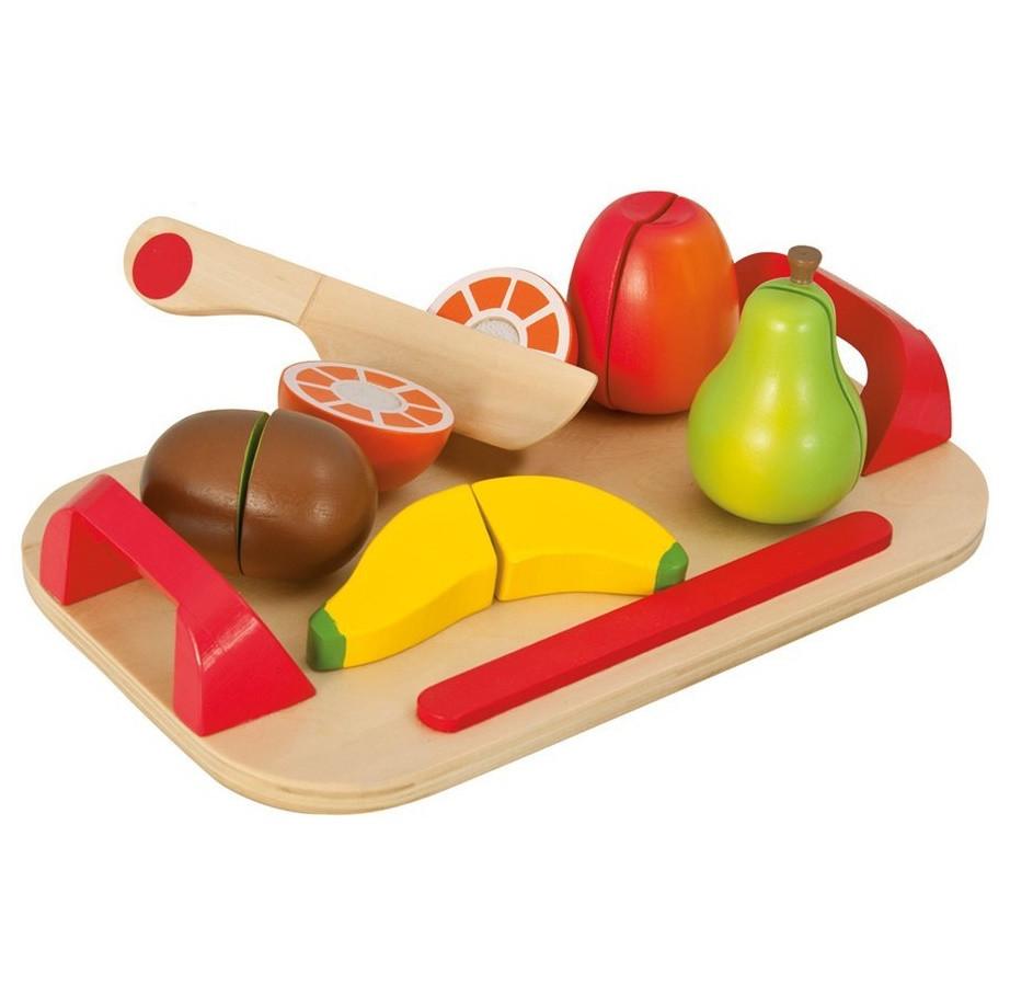 Игровой набор доска детская для нарезки с фруктами Eichhorn 3720-1