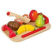 Игровой набор доска детская для нарезки с фруктами Eichhorn 3720-1, фото 1