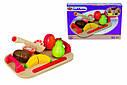 Игровой набор доска детская для нарезки с фруктами Eichhorn 3720-1, фото 4