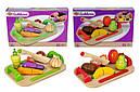 Игровой набор доска детская для нарезки с фруктами Eichhorn 3720-1, фото 5