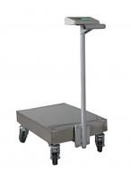 Весы-тележка электронные обычного исполнения Техноваги ТВ1-150-50-R(600х700)-S-12ера