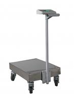 Весы-тележка электронные обычного исполнения Техноваги ТВ1-300-100-R(600х700)-S-12ера