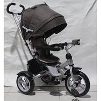 Детский трехколесный велосипед Crosser T-503 AIR (коричневый)