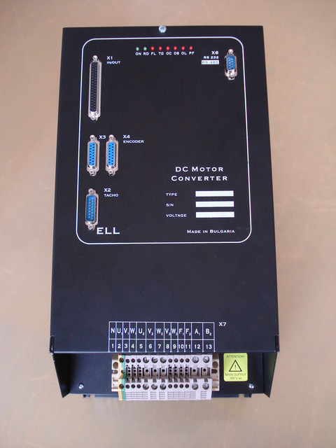 Цифровые тиристорные преобразователи ELL серии 4ХХХ