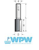Фреза  пазовая D = 6 мм; В = 25 мм; хвостовик = 8 мм. (WPW, Израиль)