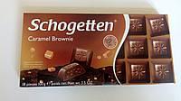 Шоколад Schogetten Caramel Brownie (Карамельный пирог) 100 гр