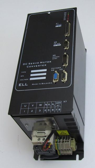 Цифровые тиристорные преобразователи ELL серии 12ХХХ/400