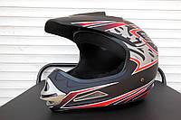 Шлем BLD №-819 кроссовый matt black