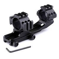 Крепление для оптического прицела Кр-LD3003-d=30 mm-Weaver, 185 г