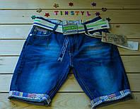 Джинсові шорти для хлопчика ріст 122-128 см