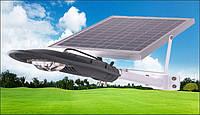 Фонарь уличный светоидный с солнечной батареей 20вт