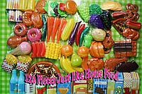 Большой набор 120 предметов продукты питания Just Like Home Mega Food Playset Оригинал из США