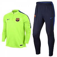 Спортивный костюм Nike, Барселона. Футбольный, тренировочный. Сезон 16/17 (реплика)