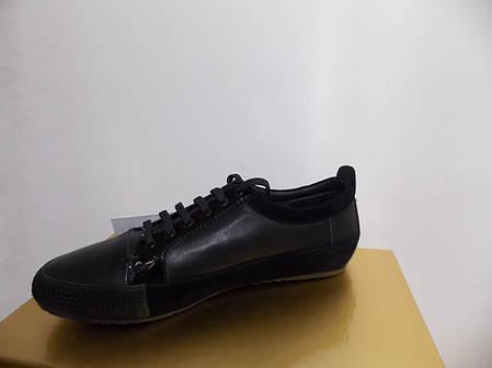 Женские мокасины Burberry 835 черные, фото 2