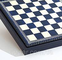 """Шахматный бокс """"Синие клетки"""" (Small), фото 1"""