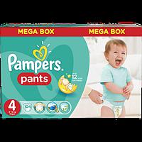Подгузники - трусики детские Pampers Pants (4) Maxi 9-14 кг 104 шт. Mega Box