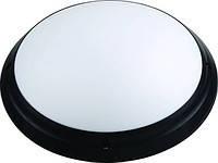 Светильник пластиковый Круг Опал ИР65 (Акуа) черный