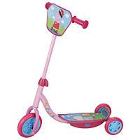 Скутер / самокат детский лицензионный - PEPPA / Пеппа (3-х колесный)