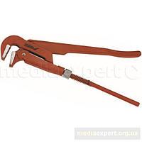 Ключ для труб dedra 12c1045 typ 45 разводной 254 mm