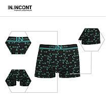 Мужские боксеры стрейчевые марка «IN.INCONT»  Арт.3543, фото 2