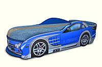 Кроватка машина Мерседес синяя