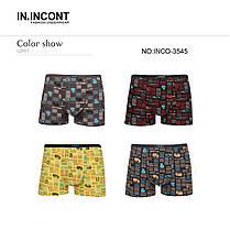 Мужские боксеры стрейчевые марка «IN.INCONT»  Арт.3545, фото 3