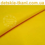 Однотонная польская бязь жёлто-оранжевая (№206а)., фото 4