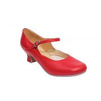 Туфли для народных танцев  женские  каблук 5 см.