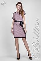 Вязаное платье из натуральной хлопковой ткани