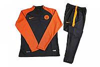 Спортивный костюм Nike, Манчестер Сити (черный). Футбольный, тренировочный. Сезон 16/17, фото 1